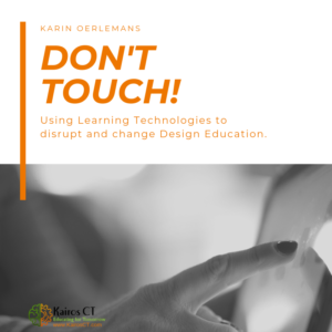 don't touch blended learning in studio